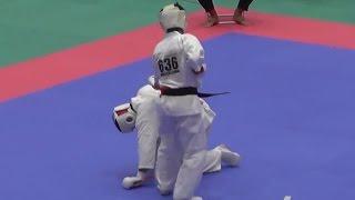 630桜田尚飛(秋田支部)VS636高橋扶汰(東京城北支部) http://kyokushin-s...
