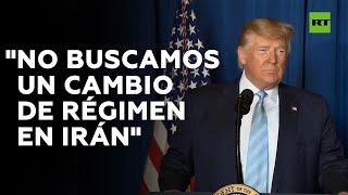 Trump sobre el asesinato de Soleimani: