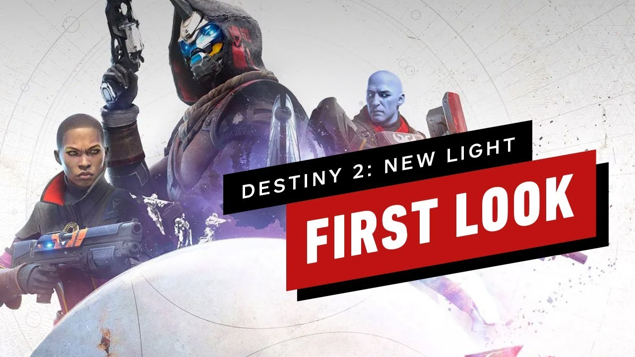 The First 25 Minutes Of Destiny 2 New Light Free To Play Gameplay Youtube