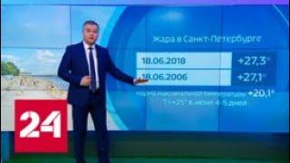 """""""Погода 24"""": помогут ли росийской сборной особенности национального климата? - Россия 24"""
