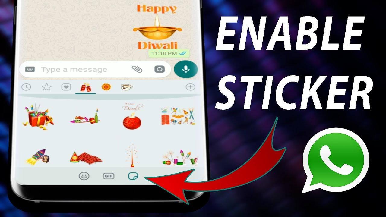 how to add stickers to whatsapp
