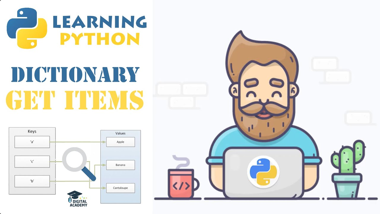 Access Items from a Dictionary in Python (Get)