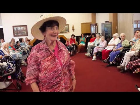 A Senior Citizen Fashion Show