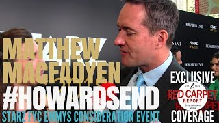 Matthew Macfadyen interviewed at Starz Emmys FYC Event for Howards End FYCEmmys