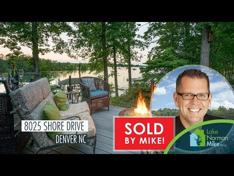 8025 Shore Drive Denver NC   Lake Norman Luxury Waterfront