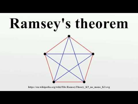 Ramsey's theorem