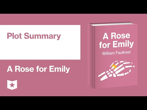 A Rose For Emily By William Faulkner | Plot Summary