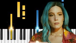 Halsey - Sorry - Piano Tutorial