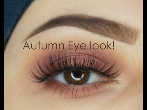 Autumn Fall Eyelook | Modern Renaissance Anastasia Beverly Hills | Makeupartistnajla