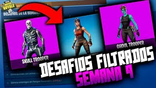 FREE FIRST SEASON CHARACTERS!!! *WEEK 9 OF COMPLETE CHALLENGES* FORTNITE