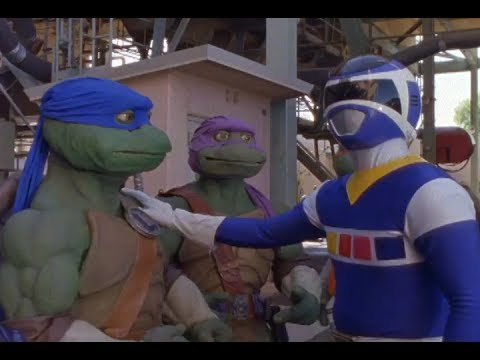 Power Rangers Meet The Teenage Mutant Ninja Turtles | Crossover