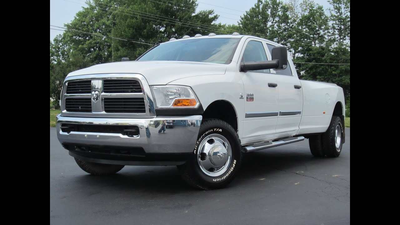 2010 dodge ram 3500 6 7l cummins diesel dually sold youtube. Black Bedroom Furniture Sets. Home Design Ideas