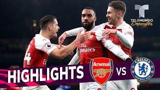Arsenal vs. Chelsea: 2-0 Goals & Highlights | Premier League | Telemundo Deportes
