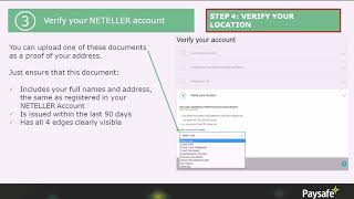 The Whole Neteller Verification Process Step 6 - How To Verify Your Location?
