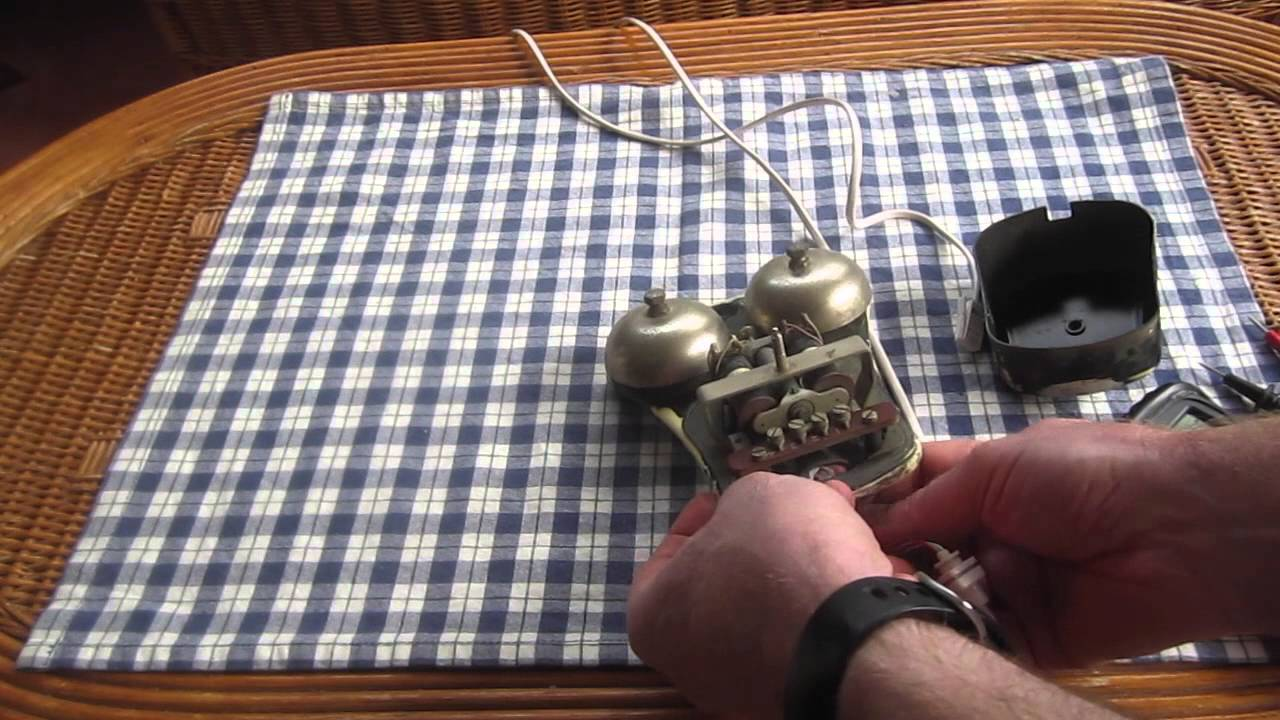 Vintage Telephone Extension Bells - YouTube on