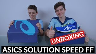 UNBOXING: SPECIAL EDITION ASICS Solution Speed FF shoes