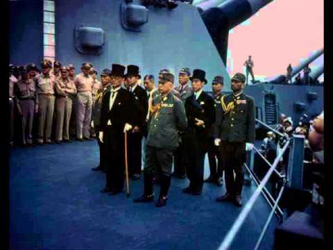 WW2: Surrender Ceremony Ending the War (FULL Radio Broadcast)