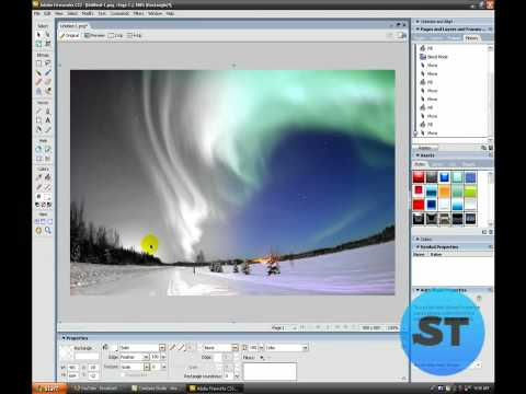Hd tutorial: how to make a banner in adobe fireworks cs3 youtube.