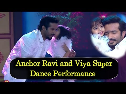 anchor-ravi-and-his-daughter-viya-super-dance-in-ugadi-special-event