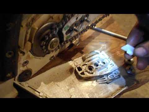 Ремонт крышки сцепления бензопилы Штиль МС 260