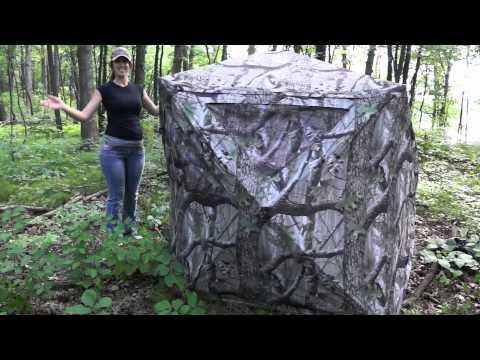 Hunting Blind Foldling Instructions Short.