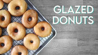 VEGAN GLAZED DONUTS | Krispy Kreme Style Doughnut Recipe