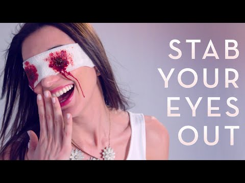 New AntiAging Solution: Stab Your Eyes Out™