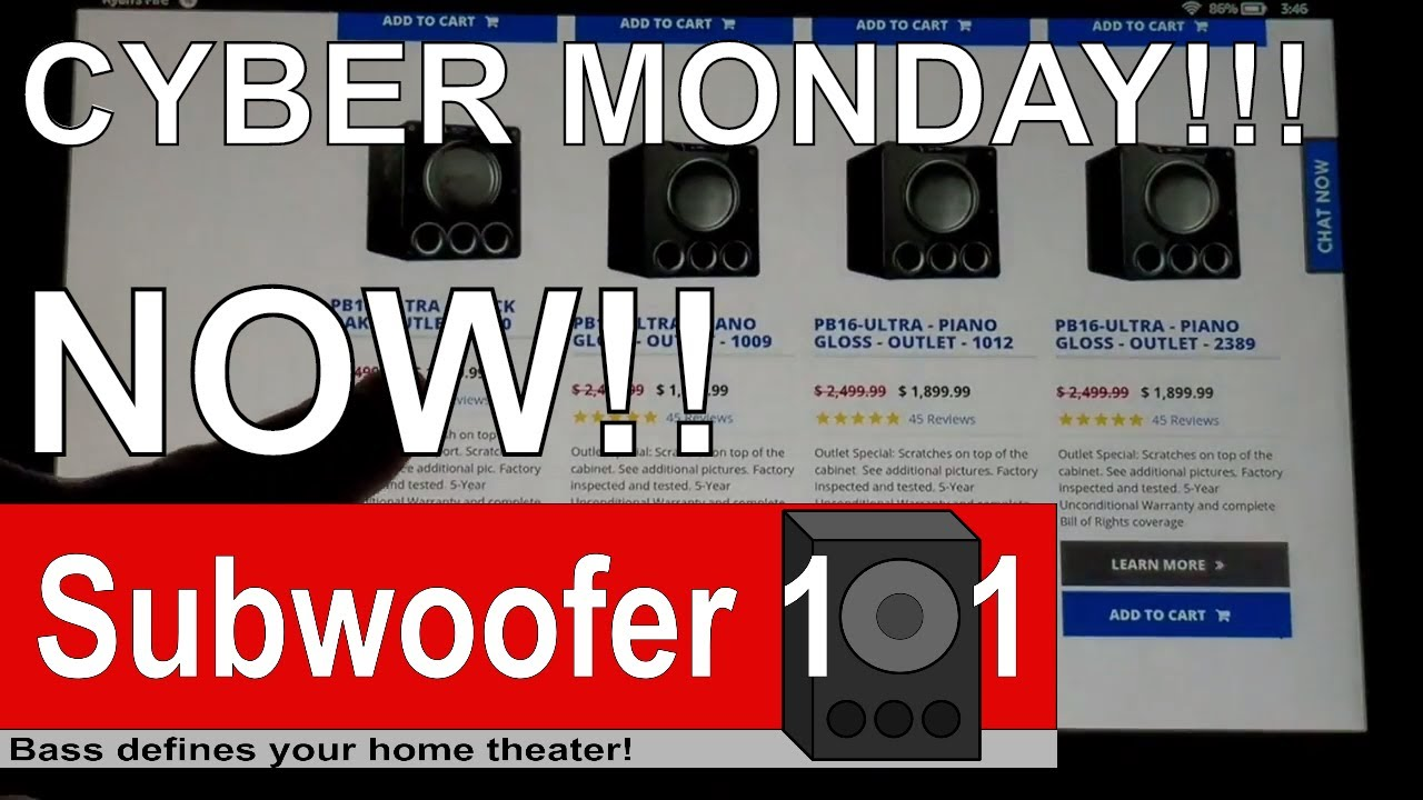 The Svs Cyber Monday Subwoofer Specials Are Insane Best Pricing I
