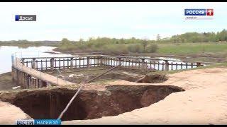 В Новоторьяльском районе запланирован капитальный ремонт гидроузла на реке Толмань