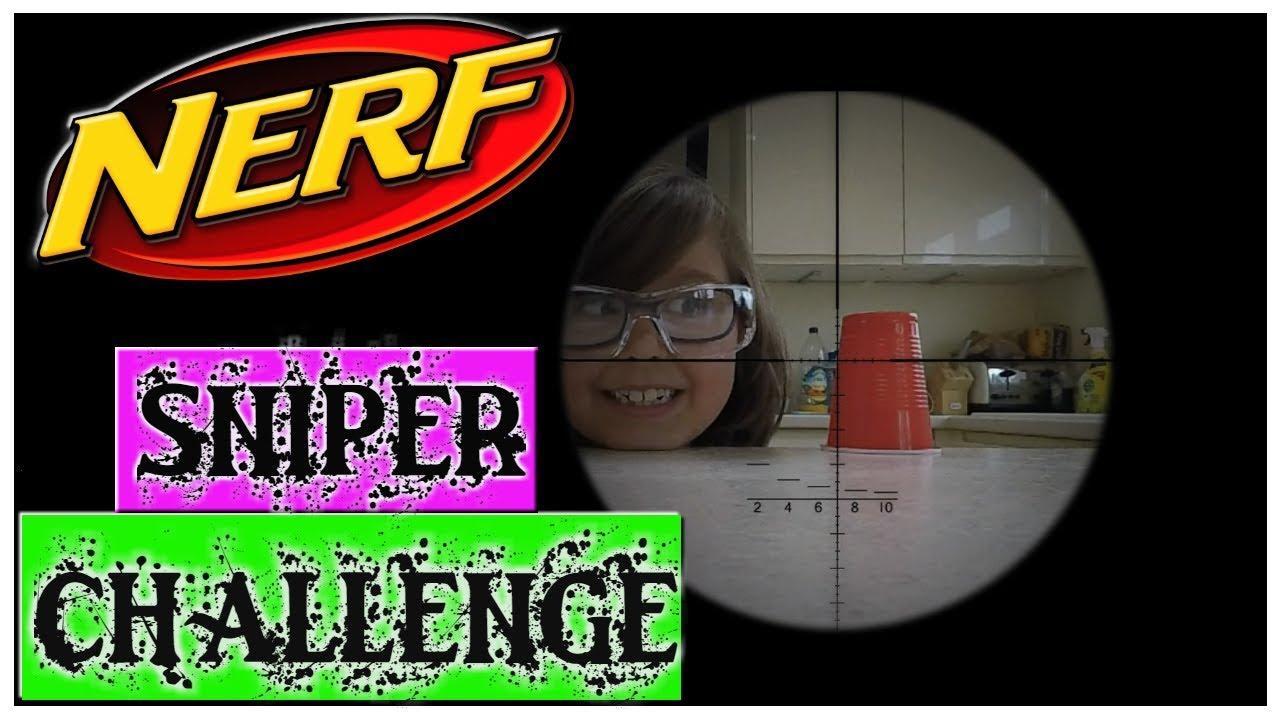 Nerf Raptor-Strike Sniper Challenge - Headshot Target ...