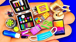 BACK TO SCHOOL MINIATURES DIY CRAFTS
