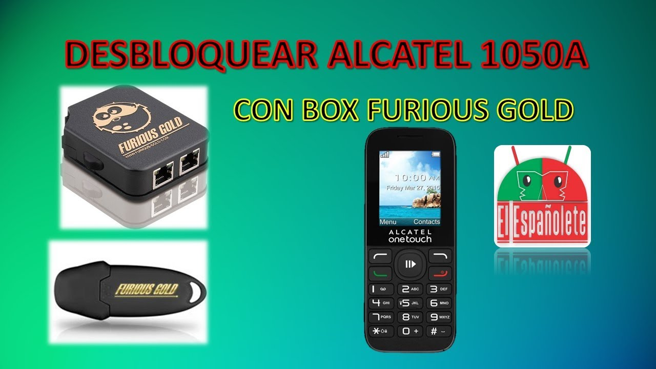 Desbloquear Alcatel 1050a Con Furious Gold