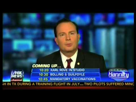 Mike Lee on Hannity 12/11/13: Americans will be left out in the cold because of Obamacare