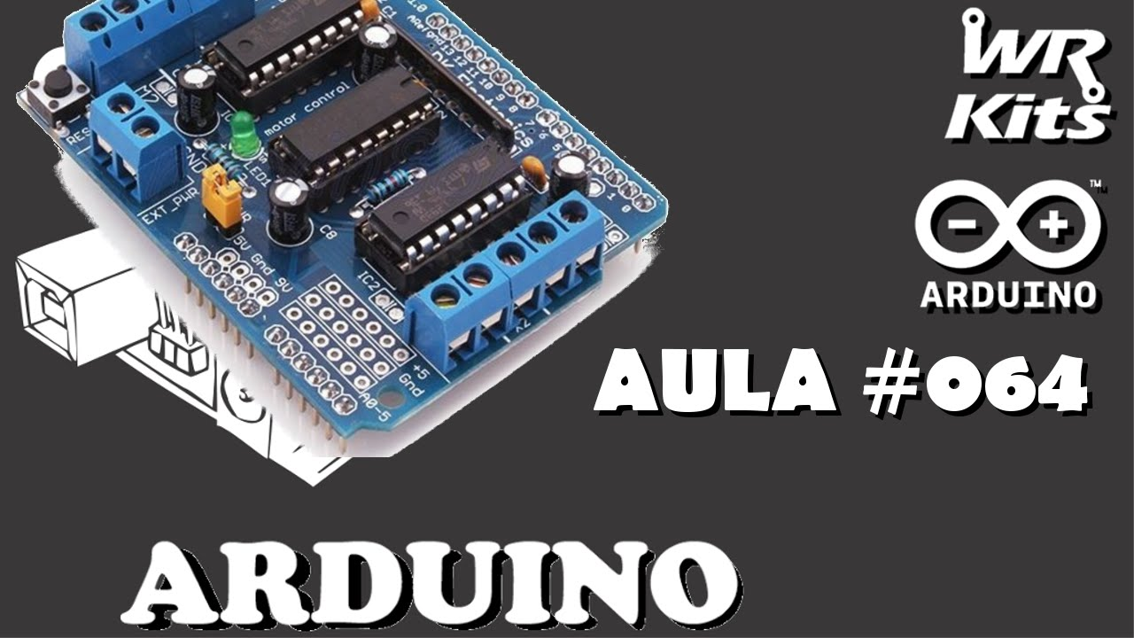 Hardware Do Motor Shield L293d Curso De Arduino 064 Youtube Driver Circuit Embed4u