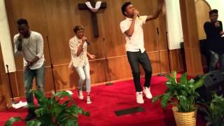 "TWG LIVE singing ""Big Brother"" & ""Great Is Your Love"" from ""Fast Forward"" in Paterson NJ 5-30-15"