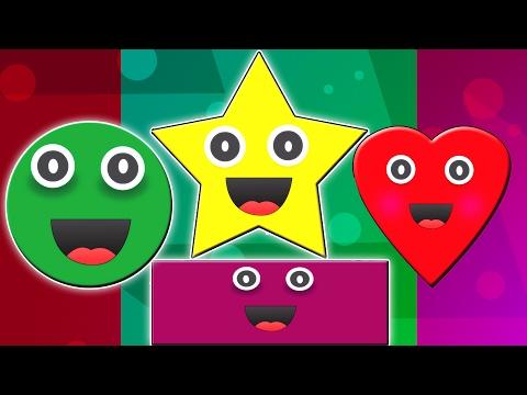الأشكال أغنية | الأشكال للأطفال | قافية للأطفال | Shapes Song | Learn Shapes | Shapes Rhyme For Kids