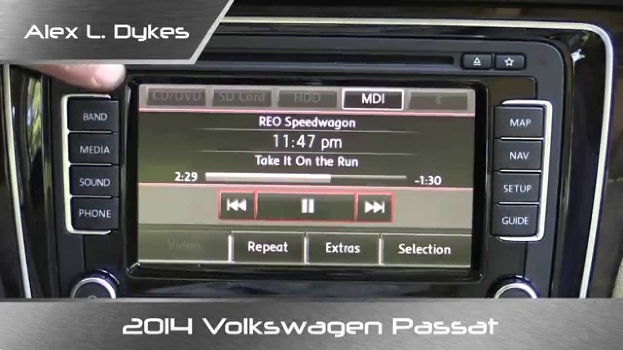 2014 volkswagen passat rns 510 infotainment review youtube. Black Bedroom Furniture Sets. Home Design Ideas