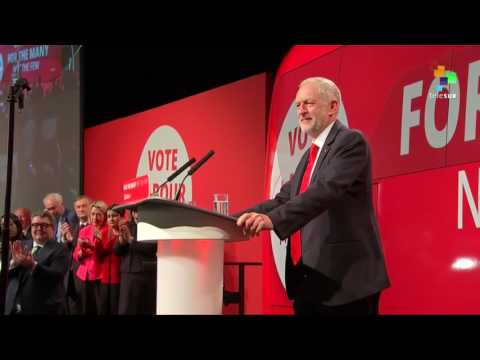 UK Labor Leader Launches Campaign
