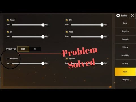 Hindi How To Fix Mic In PUBG Mobile YouTube