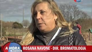 ROSANA NAVONE   DIR  DE BROMATOLOGIA   RECORRIDO POR LA GUERDERIA CANINA   CURSO PARA MANIPULADORES