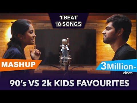 90's vs 2k Kids Favourites Mashup | Joshua Aaron (ft.Priya Foxie)