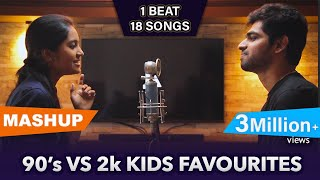 90's vs 2k Kids Favourites Mashup | Joshua Aaron (ft.Priya Foxie)
