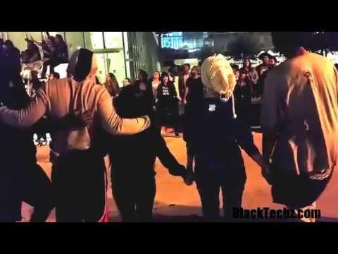 BlackLivesMatter - We Gonna Be Alright DTLA Protest 7-7-2016