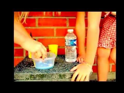 tuto slime avec lessive eau et colle - youtube