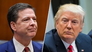 Trump surprised at backlash from Comey firing