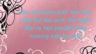 Lyrics to the Song Synchronize. I love this song. :) I don't own th...