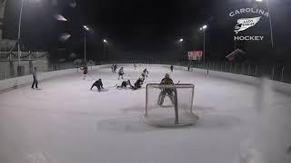 2018 U14 Carolina Lady Eagles vs Chevy Chase Club girls ice hockey highlights