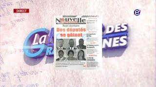 LA REVUE DES GRANDES UNES DU LUNDI 08 JUILLET 2019 - ÉQUINOXE TV