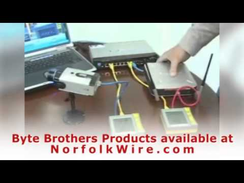 Byte Brothers Power Panel Jack and PoE Tester Inline Model - YouTube