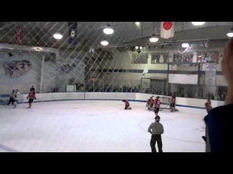 Kentucky Hockey - Ice Cats vs. U of L - Scoring back to back goals